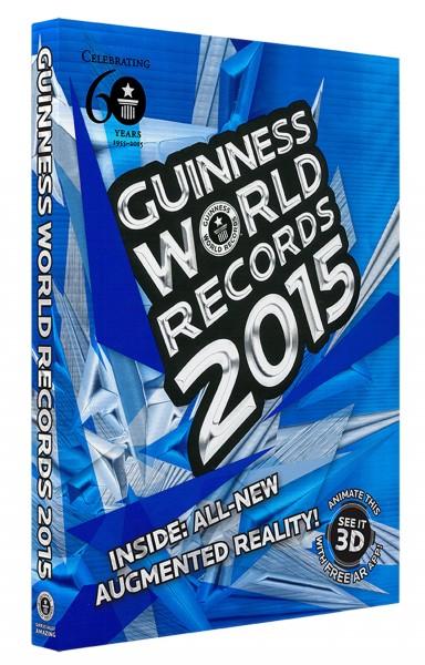 Najnowsza edycja księgi rekordów Guinnessa