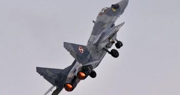 Polski MiG-29 na RIAT 2015