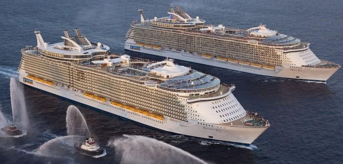 Wycieczkowce Oasis – największe statki pasażerskie świata