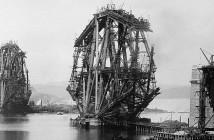 Forth Bridge - niesamowity most wspornikowy z XIX wieku