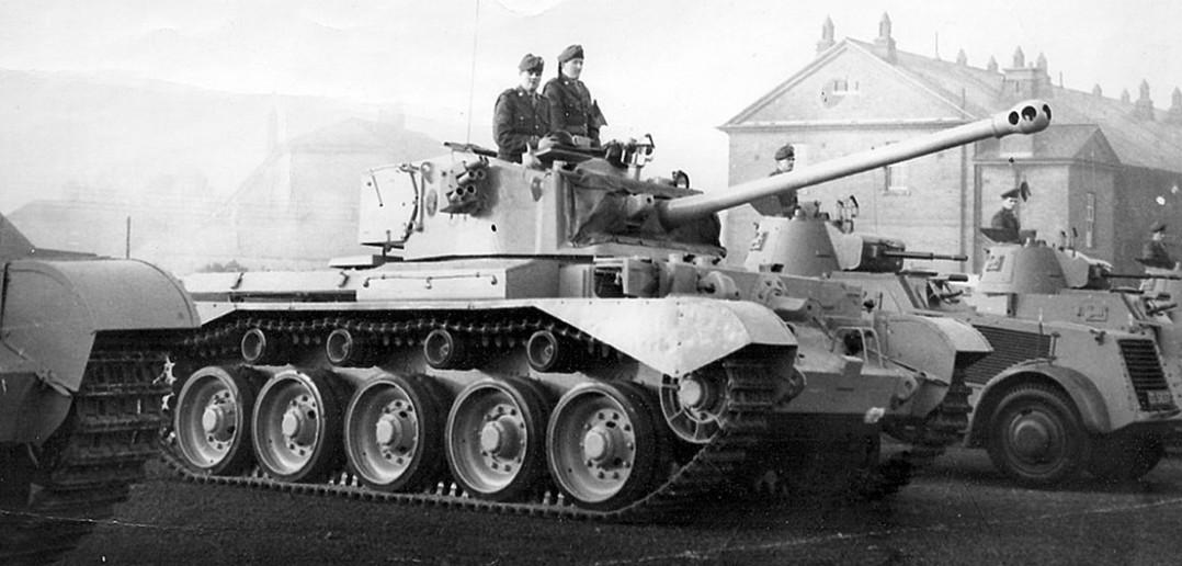 A34 Comet - pradziadek czołgów podstawowych