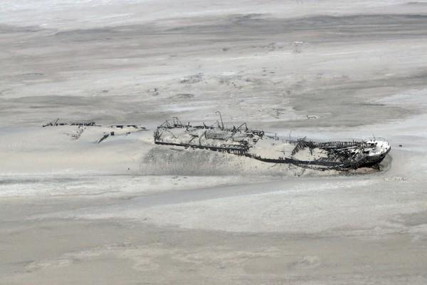 Wrak statku Eduard Bohlen (fot. Anagoria/Wikimedia Commons)