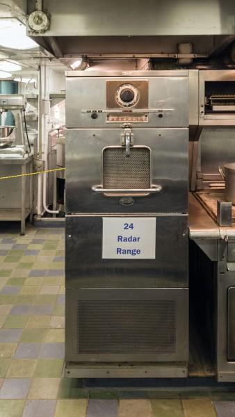 Mikrofalówka Radarange na pokładzie NS Savannah