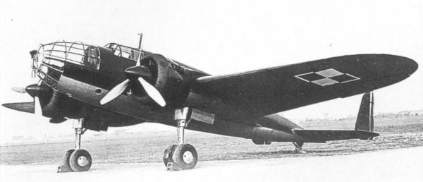 PZL-37 Łoś był najnowocześniejszym polskim samolotem bojowym w 1939 roku