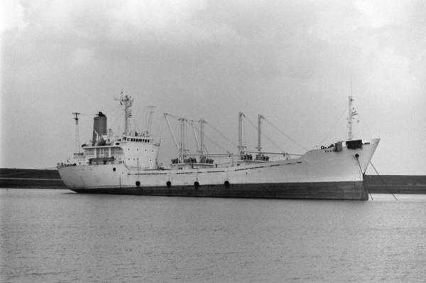 Statek jeszcze jako MV Sunreef
