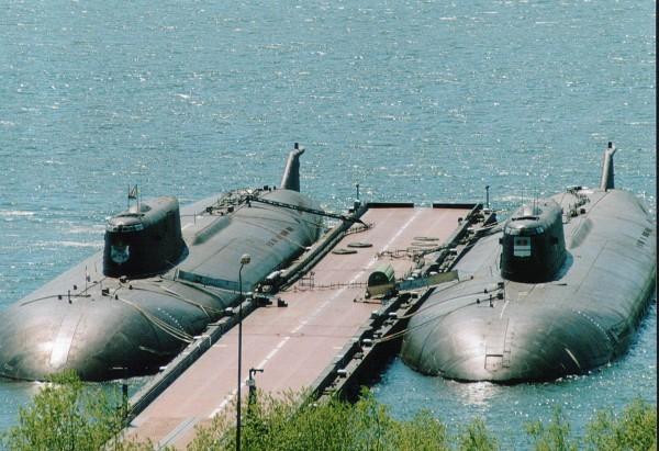 Okręty podwodne typu Oscar II - K-526 i K-186