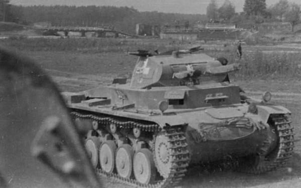 Niemiecki czołg PzKpfw II