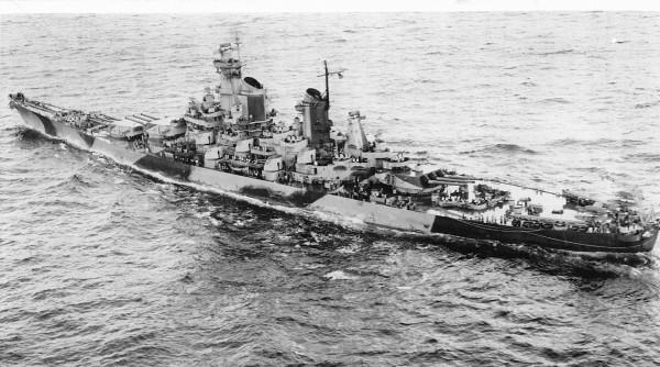 USS Iowa podczas II wojny światowej
