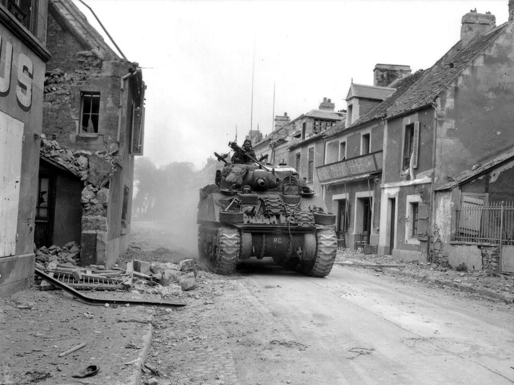 Sherman z armatą 75 mm