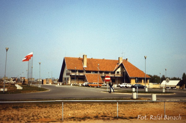 Przeźmierowo koło Poznania w 1988 roku (fot. Rafał Banach)