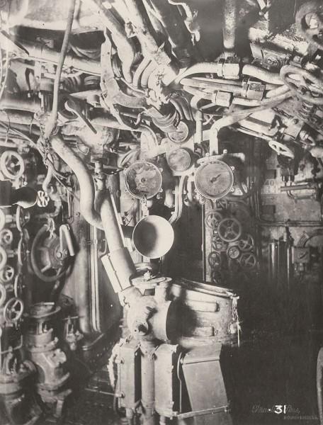 Przedział dowodzenia (fot. Tyne & Wear Archives & Museums)