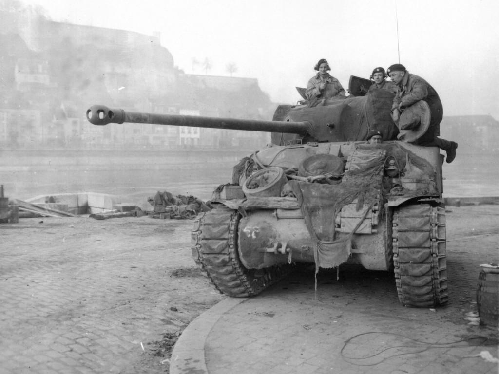 Sherman Firefly - najlepiej uzbrojony wariant Shermana w trakcie II wojny światowej