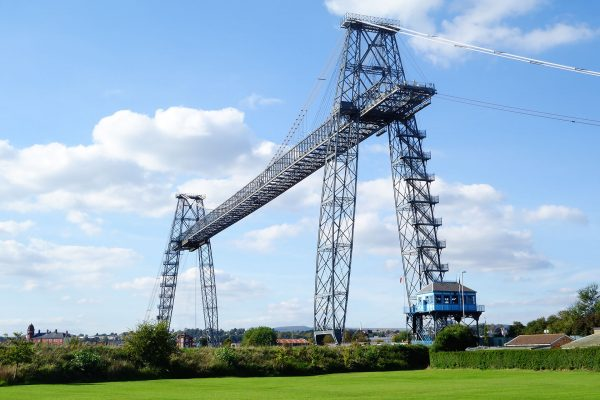 Newport Transporter Bridge (fot. WelshDave/Wikimedia Commons)