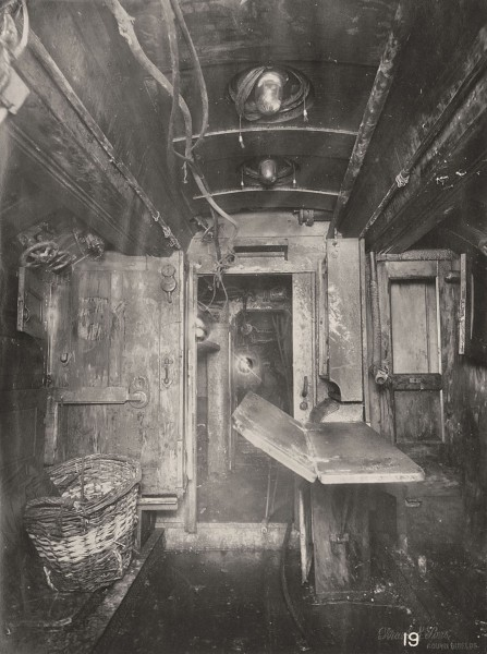 Przedział załogi (fot. Tyne & Wear Archives & Museums)