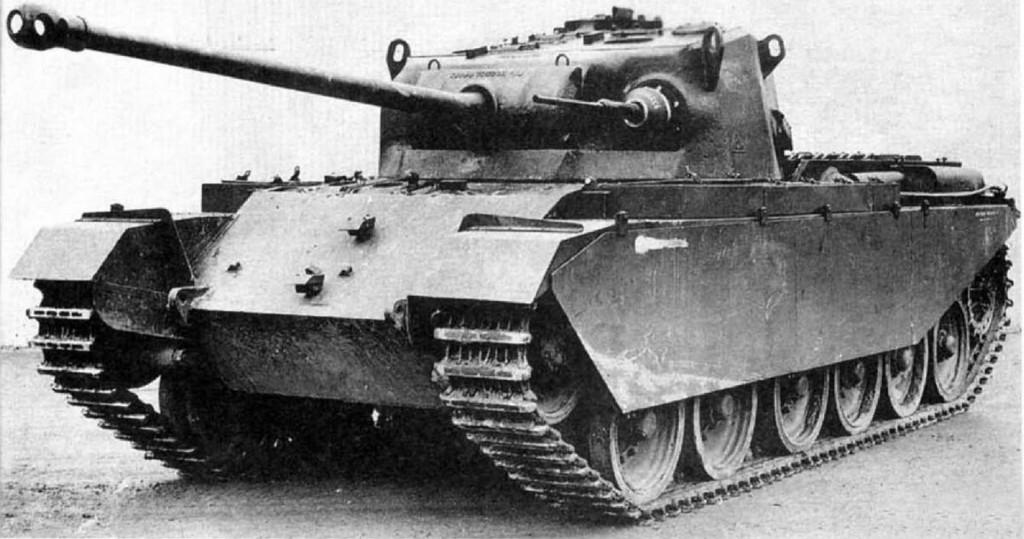 A41 Centurion Mk I - takie czołgi trafiły do Europy w maju 1945 roku