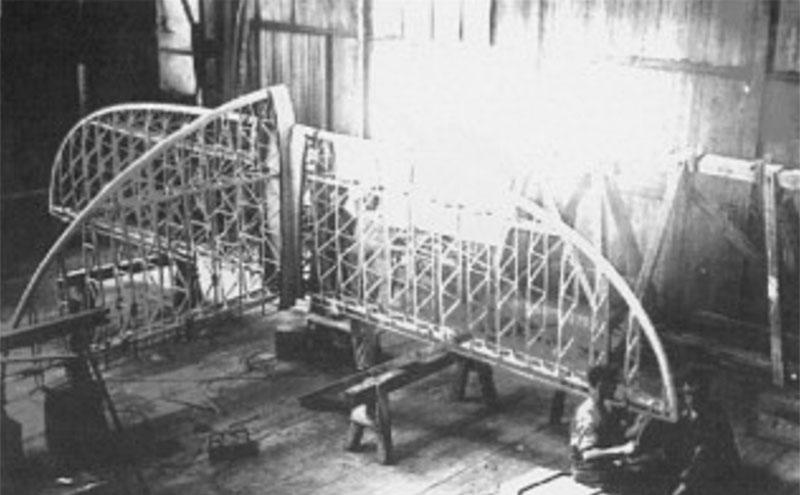 Dornier Do Y podczas budowy