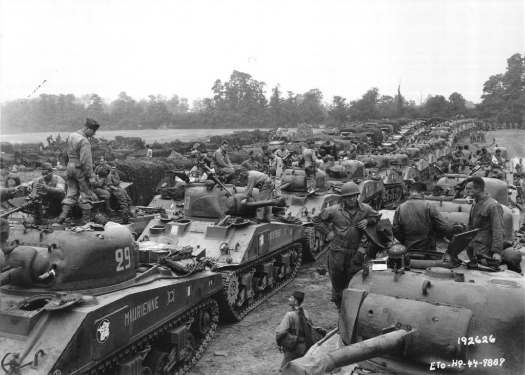 Alianckie czołgi M4 Sherman
