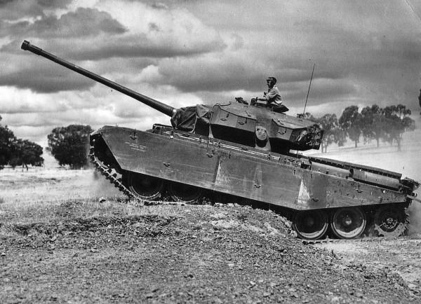 A41 Centurion późniejszej serii produkcyjnej