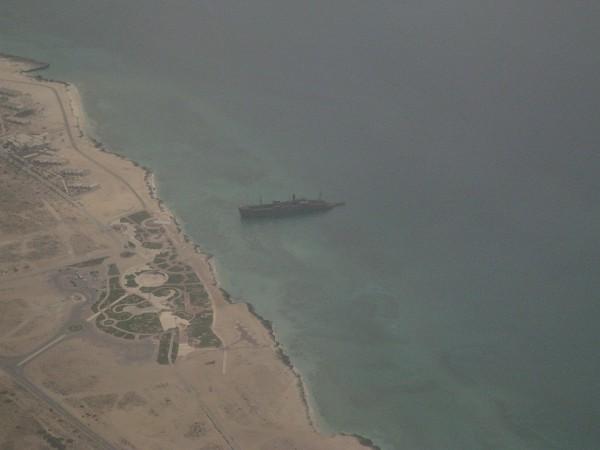 Greek Ship u wybrzeży wyspy Kish