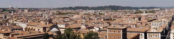 Panorama Rzymu (fot. Michał Banach)