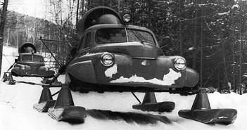 Skuter śnieżny M20 Pobieda Północ