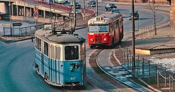 Sztokholm w latach 60-tych - zdjęcia