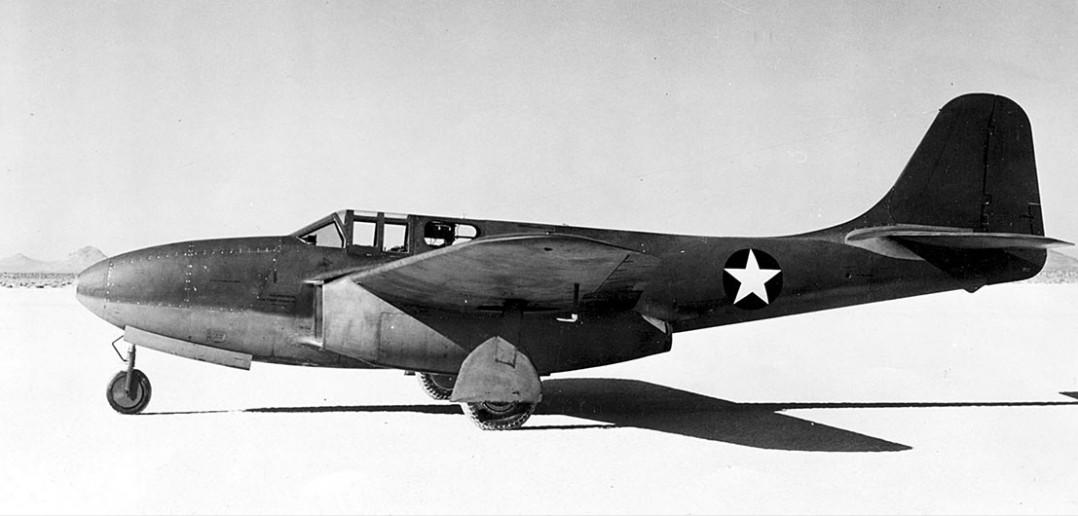 Bell P-59 Airacomet - pierwszy amerykański samolot odrzutowy