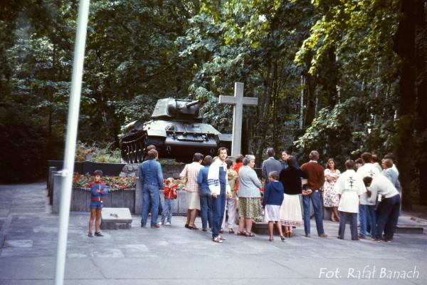 Westerplatte - 1983 rok (fot. Rafał Banach)