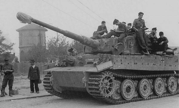 Niemiecki PzKpfw VI Tygrys