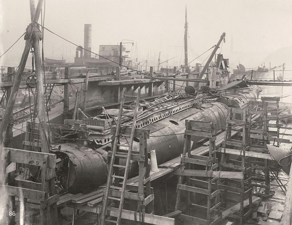 U110 w całej okazałości (fot. Tyne & Wear Archives & Museums)