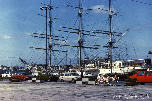 Dar Pomorza, Gdynia 1983 rok (fot. Rafał Banach)