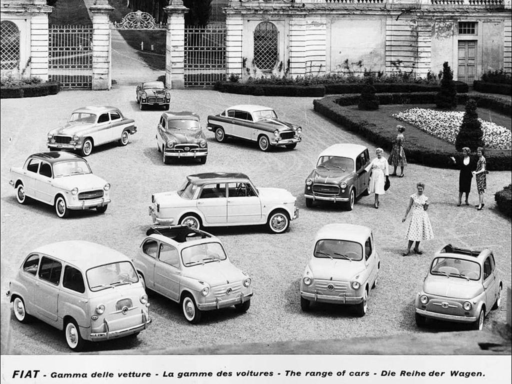 Oferta samochód Fiata z 1958 roku (fot. Fiat)