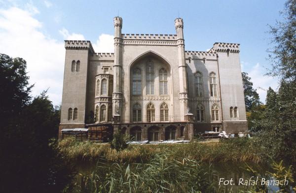 Zamek w Kórniku, Wielkopolska, 1986 rok (fot. Rafał Banach)