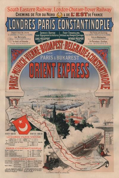 Ulotka reklamowa Orient Expressu