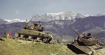 Sherman i T-34/85
