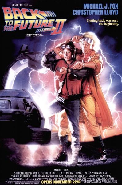 Plakat filmu Powrót do przyszłości II
