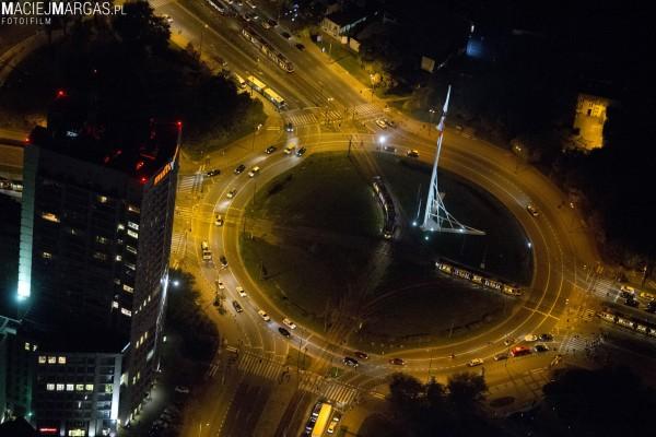 Warszawa z lotu ptaka (fot. Maciej Margas)