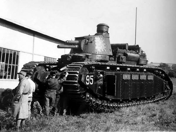 Czołg ciężki FCM 2C