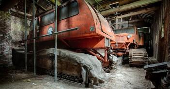 Zapomniane antarktyczne ratraki w Belgii