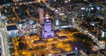 Niesamowite zdjęcia lotnicze Warszawy