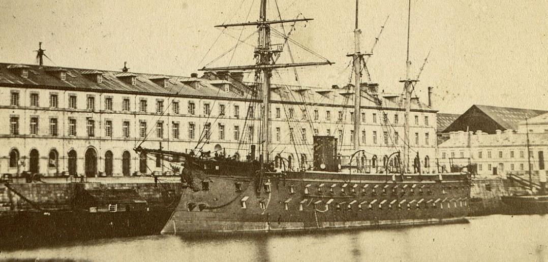 Solferino i Magenta - jedyne dwurzędowe okręty pancerny