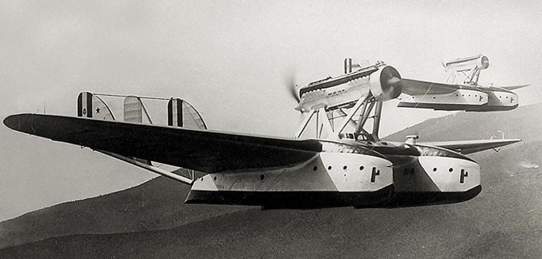 Savoia-Marchetti SM.55 - rekordowa łódź latająca