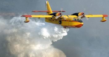 Samoloty gaśnicze Canadair CL-215 i CL-415
