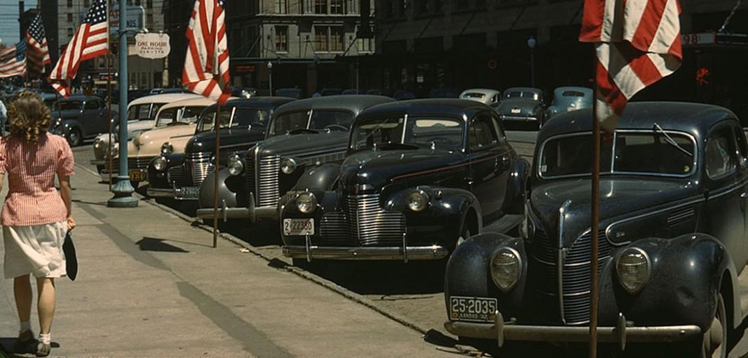 Lincoln w stanie Nebraska - 1942 - zdjęcie