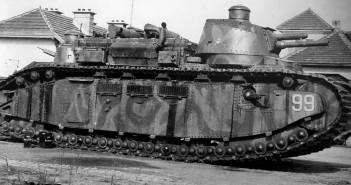 FCM 2C - 70-tonowy czołg z lat 20-tych