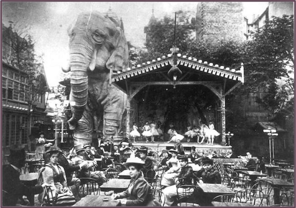 Ogród Moulin Rouge