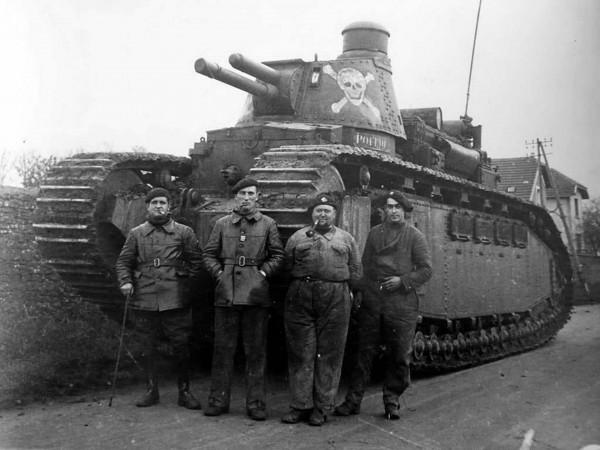 Przedwojenny francuski czołg ciężki FCM 2C