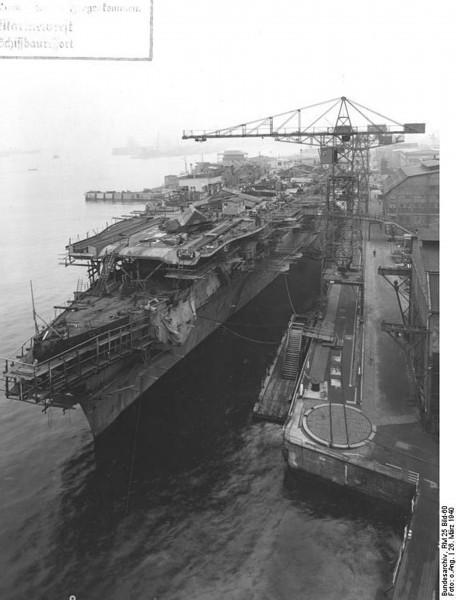 Graf Zeppelin w 1940 roku