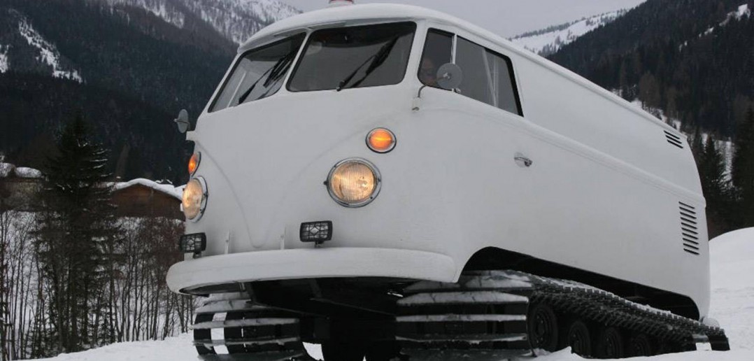 Gąsienicowy Volkswagen Type 2 T1