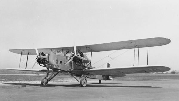 Keystone B-6A - jeden z podstawowych amerykańskich bombowców lat 20.